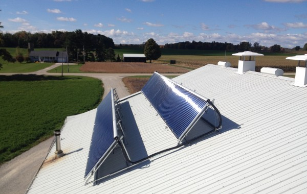 Dairy Industry benefits from Solar