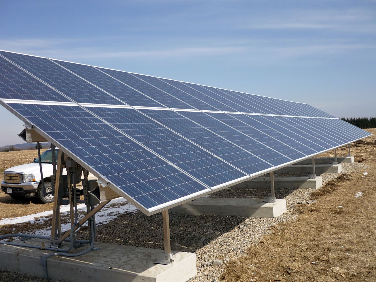20 Kw Ground Mounted Systems Solar Panel Installation